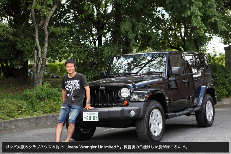 main1102 behind the wheel : 今野泰幸さん