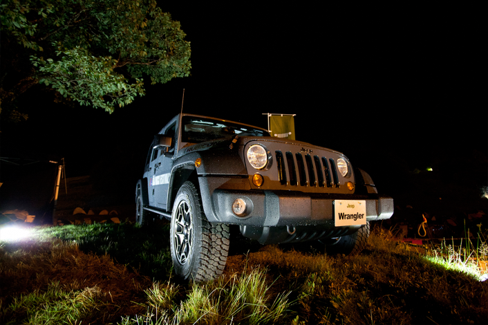2 706x470 Jeep®がフジロックフェスティバル'13 へ参戦!パトロールカー、Jeep®ブース、Wrangler Rubiconの先行展示。現地レポート編