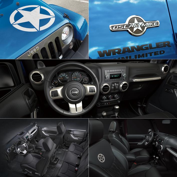 Jeep® Wrangler Unlimitedに、異なるキャラクターの2台の限定車が登場!