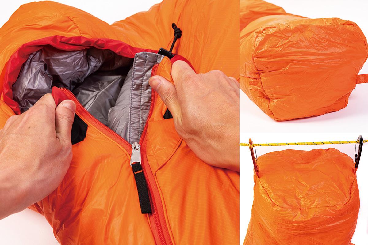 Finetrack02 【最新シェラフ12選】冬のキャンプや車中泊でも暖かく過ごせる機能派から個性的な寝袋まで!
