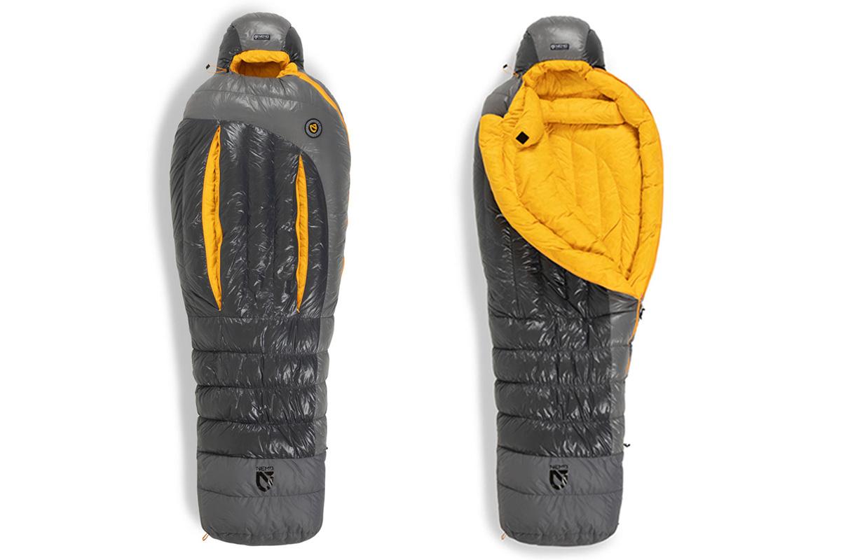 NEMO-Equipment01 【最新シェラフ12選】冬のキャンプや車中泊でも暖かく過ごせる機能派から個性的な寝袋まで!