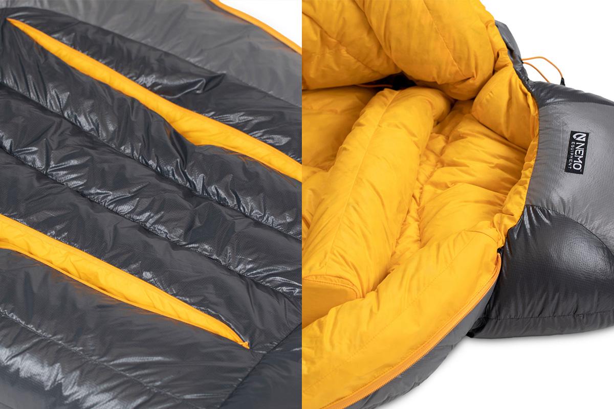 NEMO-Equipment02 【最新シェラフ12選】冬のキャンプや車中泊でも暖かく過ごせる機能派から個性的な寝袋まで!