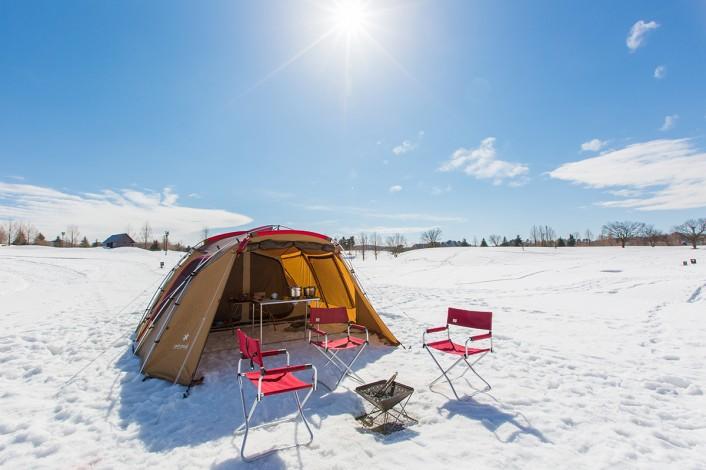 冬の関東キャンプ