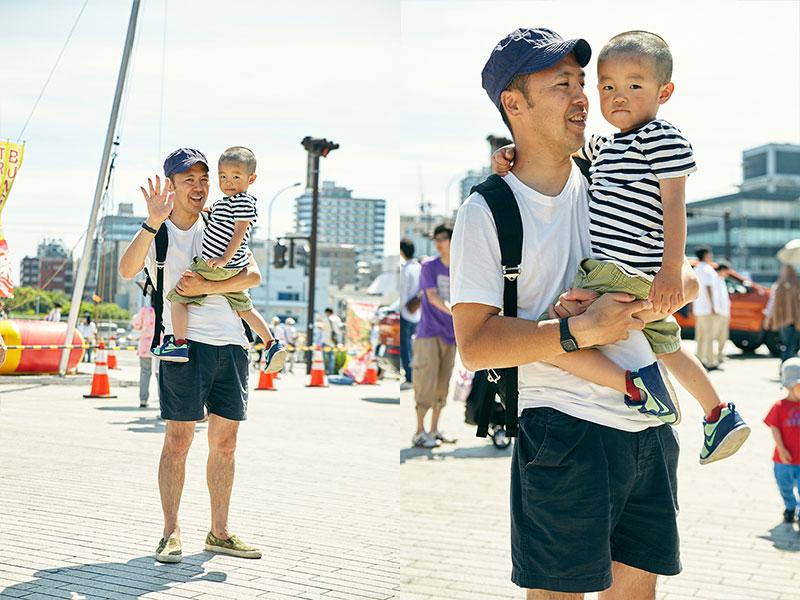 自転車の ジープ 自転車 子供 : ファッションスナップ@横浜赤 ...