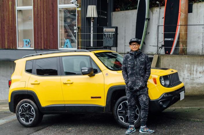 re MG 0533 706x470 『Jeep® Renegade』はイケてるスポーツギア!プロパーソナルトレーナー・藤井タダシ氏が相棒となったニューフェイスの魅力を語る。