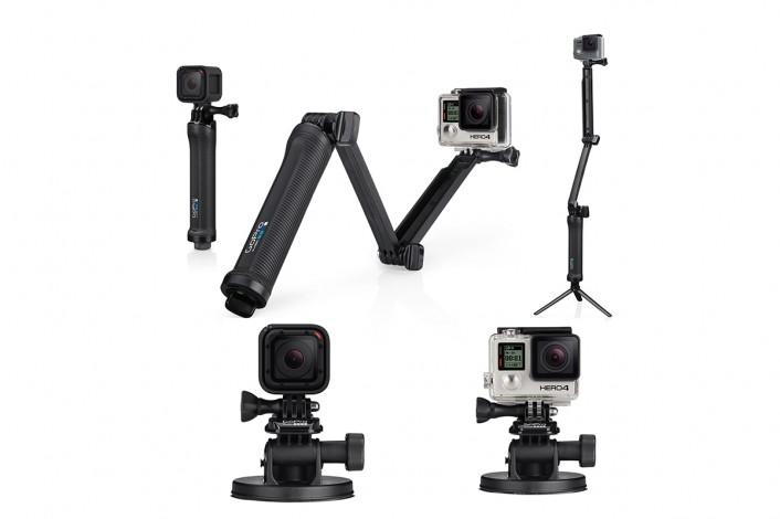 gopro_mount-706x470 2016年の最新アクションカメラ9選!『GoPro』から4Kまで、アクティブ動画を楽しむ。