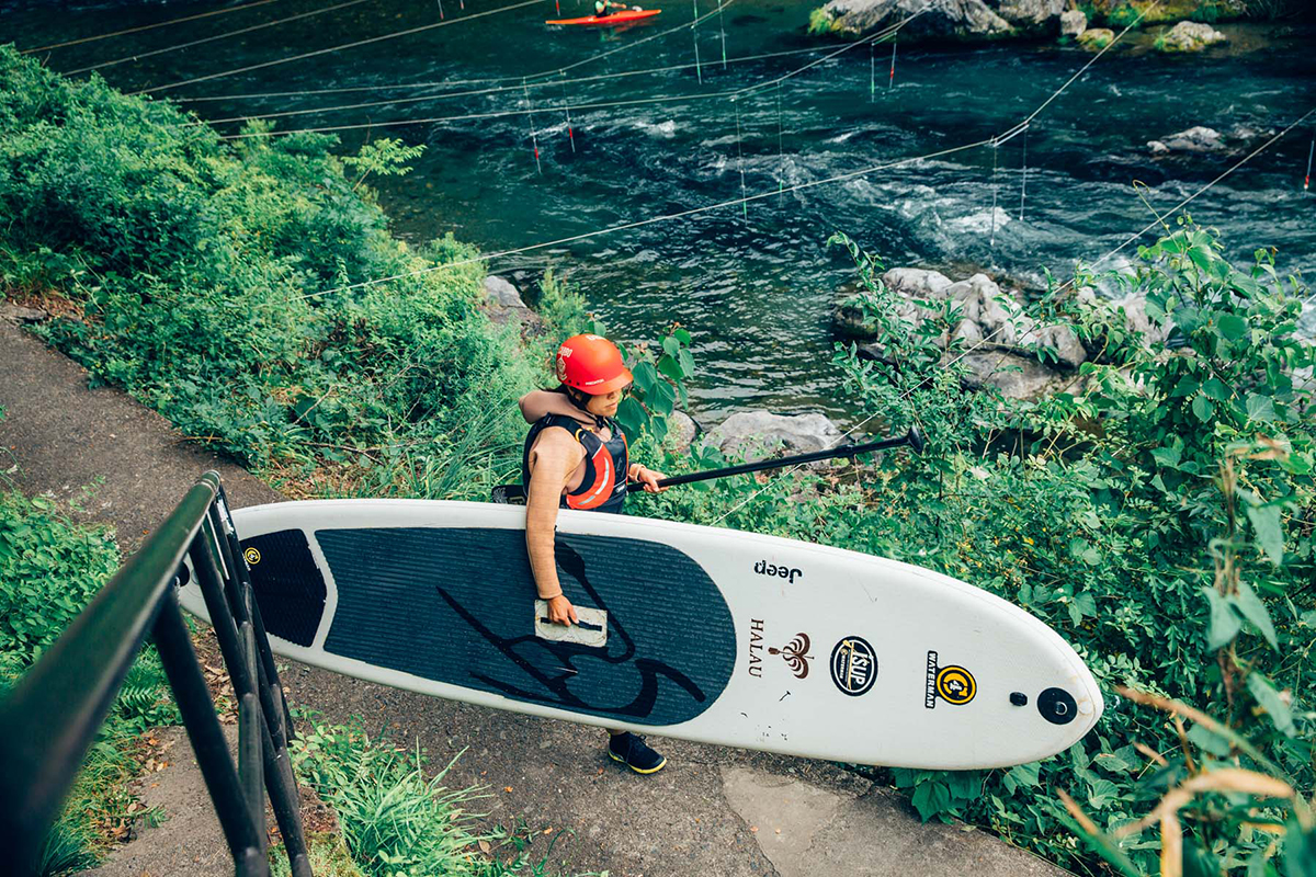 MG_4714 Jeep®がサポートする River SUP Team JAPAN が今年も集結!<Gopro Mountain Games>参戦直前のトレーニングに密着。