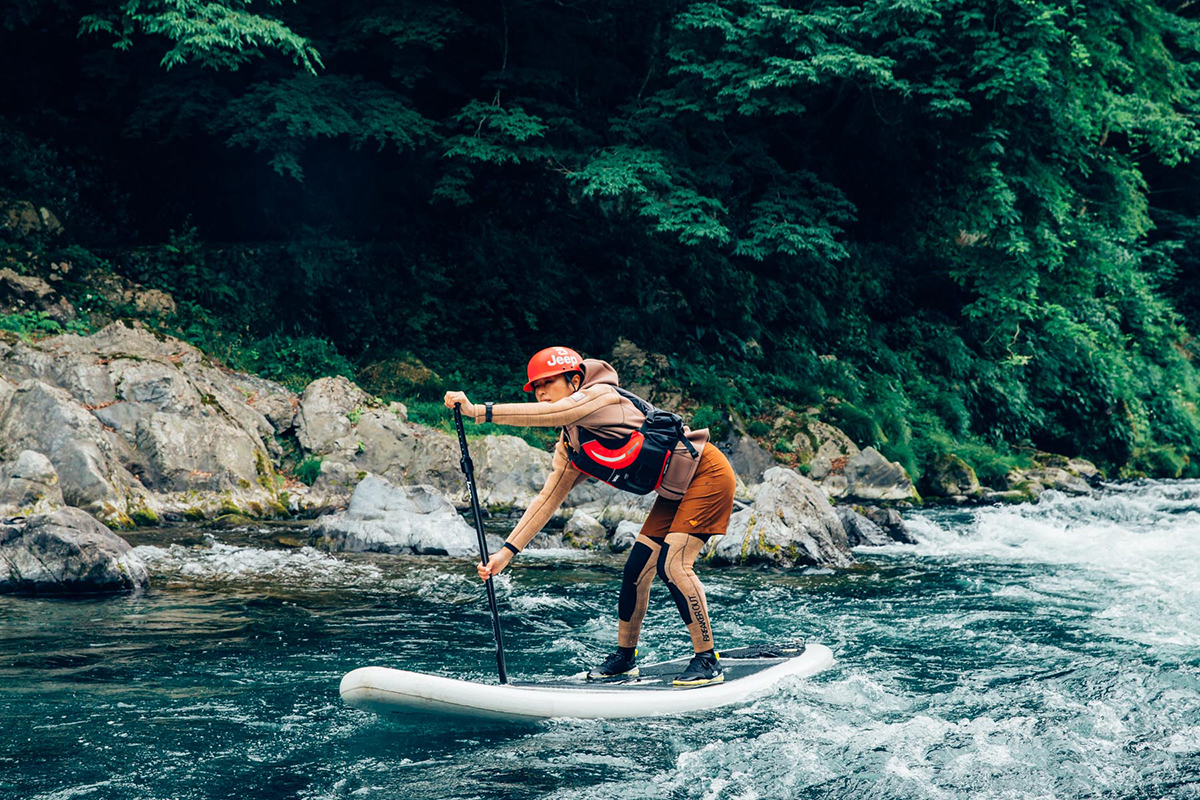 MG_4778 Jeep®がサポートする River SUP Team JAPAN が今年も集結!<Gopro Mountain Games>参戦直前のトレーニングに密着。