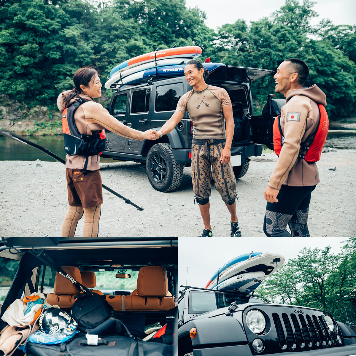 MG_51411 Jeep®がサポートする River SUP Team JAPAN が今年も集結!<Gopro Mountain Games>参戦直前のトレーニングに密着。