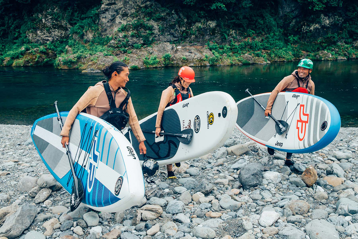 re_MG_4975 Jeep®がサポートする River SUP Team JAPAN が今年も集結!<Gopro Mountain Games>参戦直前のトレーニングに密着。