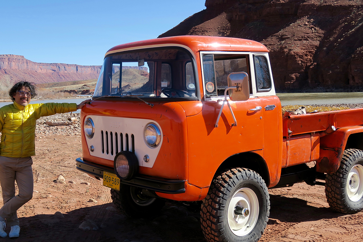 IMG_9115 75周年記念モデルの『Wrangler Unlimited』が走る!聖地モアブの大地が感じた永遠の鼓動 Part3