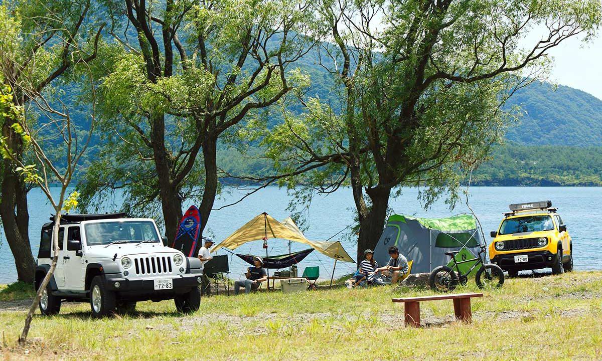 Jeep®で始めるアメリカ西海岸キャンプスタイル。 アメリカンブランドで揃えるギア&アイテム13選!
