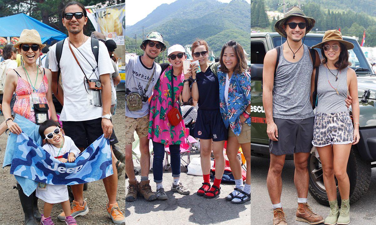 夏フェスファッションスナップ2016年最新版!フジロック'16でJeep®スナップ隊がオシャレな服装の来場者をハント!