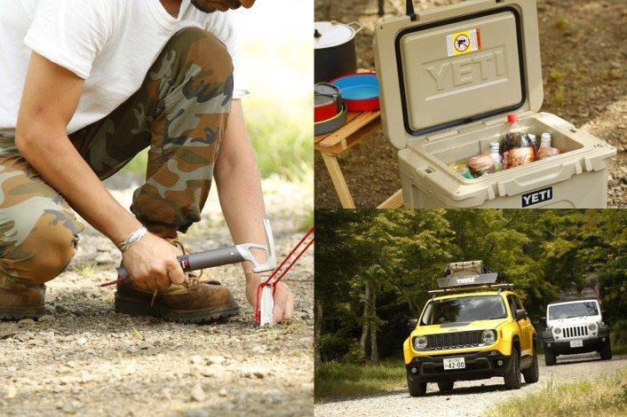 realstyle160730_02-706x470-706x470 Jeep®で始めるアメリカ西海岸キャンプスタイル。 アメリカンブランドで揃えるギア&アイテム13選!