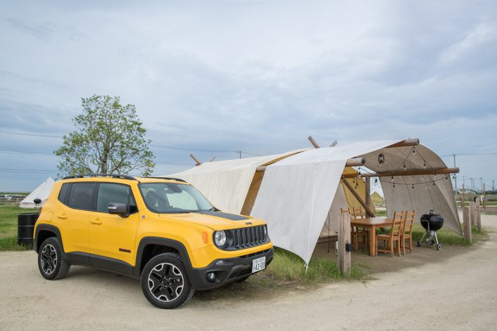 160928_YK_00104-706x471 Jeep®で行きたいおすすめデートプランin木更津。贅沢グランピング体験&湾岸沿い絶景スポットをドライブ!