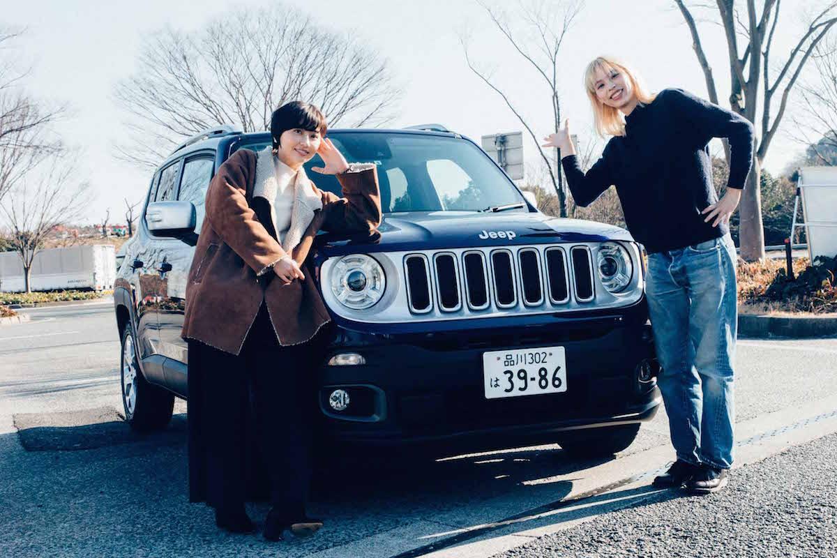 F7Q1254 東名高速おすすめSAを巡るグルメツアー!2人組ラップユニット・chelmicoと富士山を望む絶景ドライブ&ご当地グルメ満喫レポート