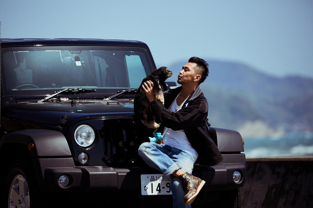 RF_3449 My Jeep®,My Life. ボクとJeep®の暮らしかた。 俳優・村上 淳