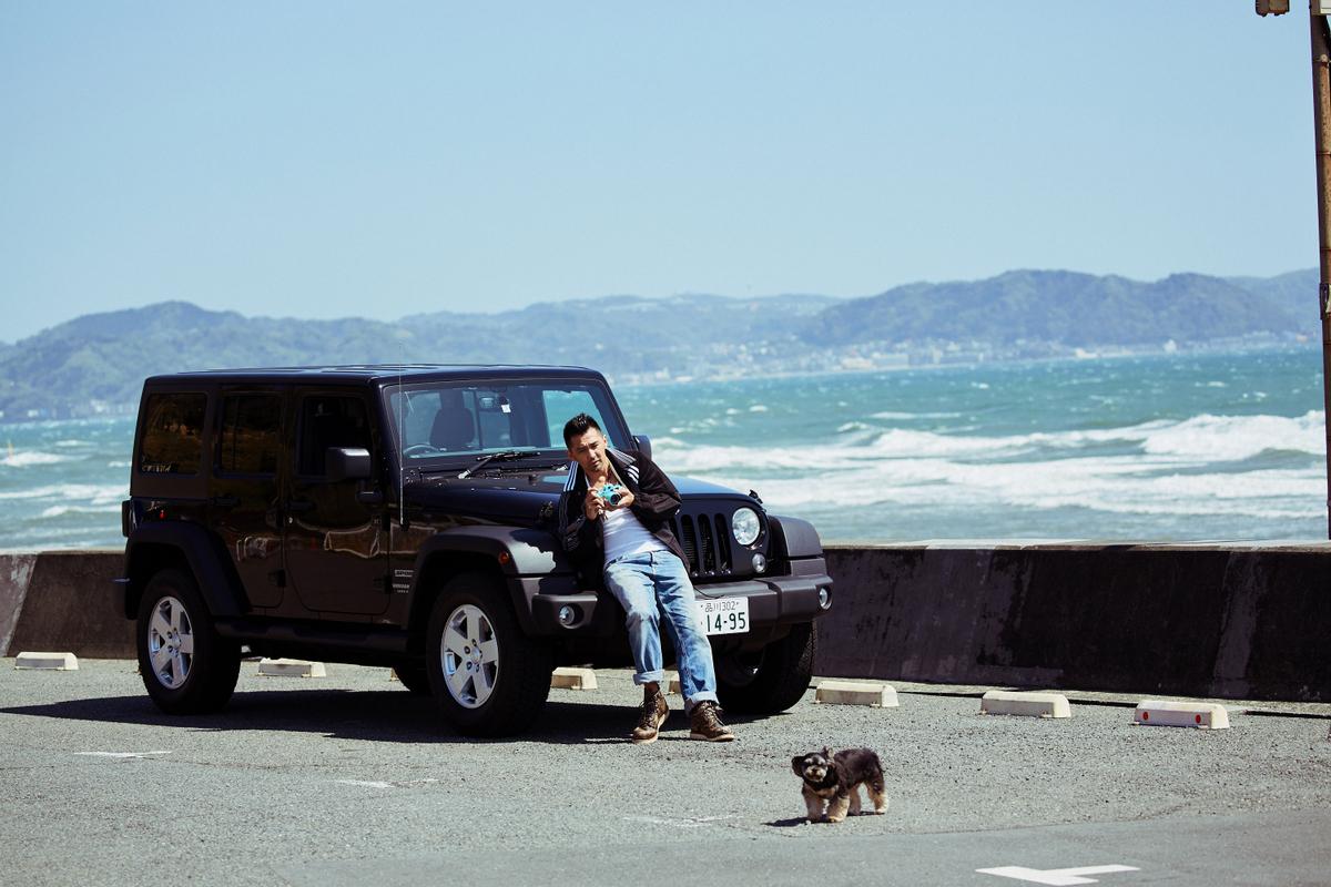 RF_3507 My Jeep®,My Life. ボクとJeep®の暮らしかた。 俳優・村上 淳