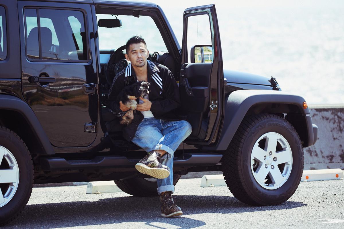 RF_3700-1 My Jeep®,My Life. ボクとJeep®の暮らしかた。 俳優・村上 淳