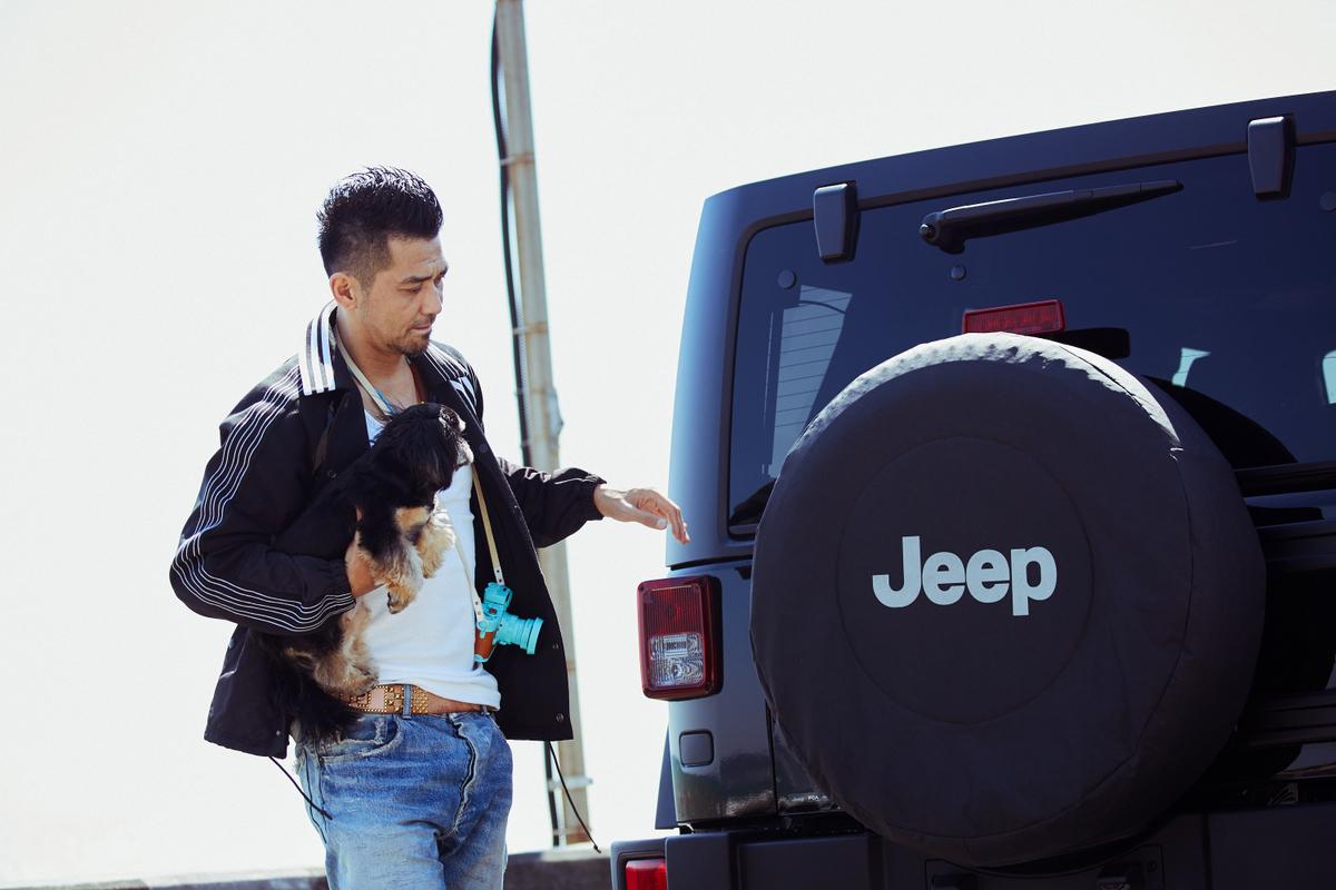 RF_3847 My Jeep®,My Life. ボクとJeep®の暮らしかた。 俳優・村上 淳