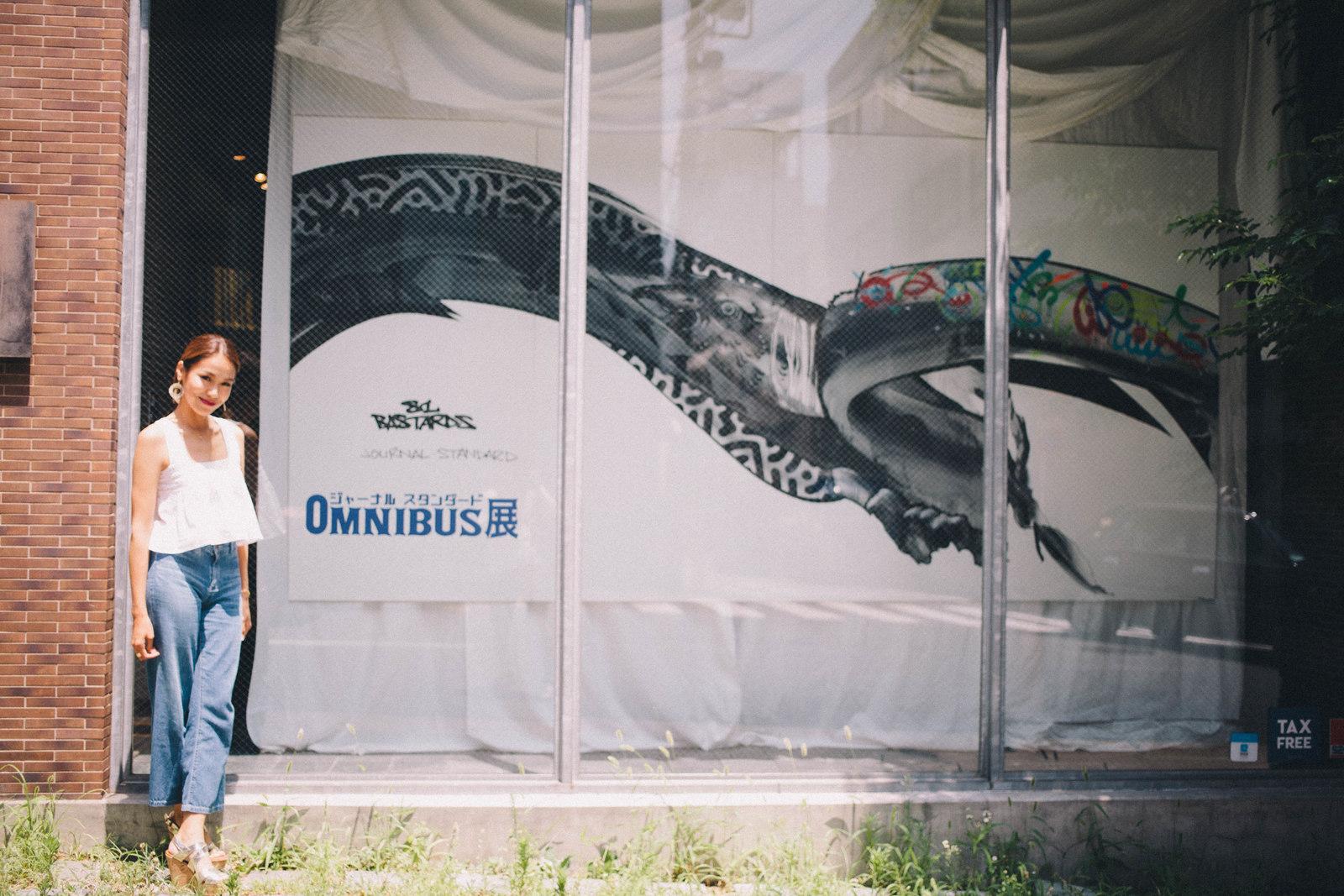 IMG_1482 国内外で活躍するアーティスト4組の「作品の向こう側」| ジャーナル スタンダード「オムニバス展」密着レポート!