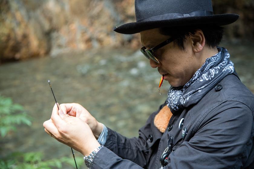 Y6A2132 スタイリスト・望月 唯さんの渓流釣り道具 11選【MY STANDARD】
