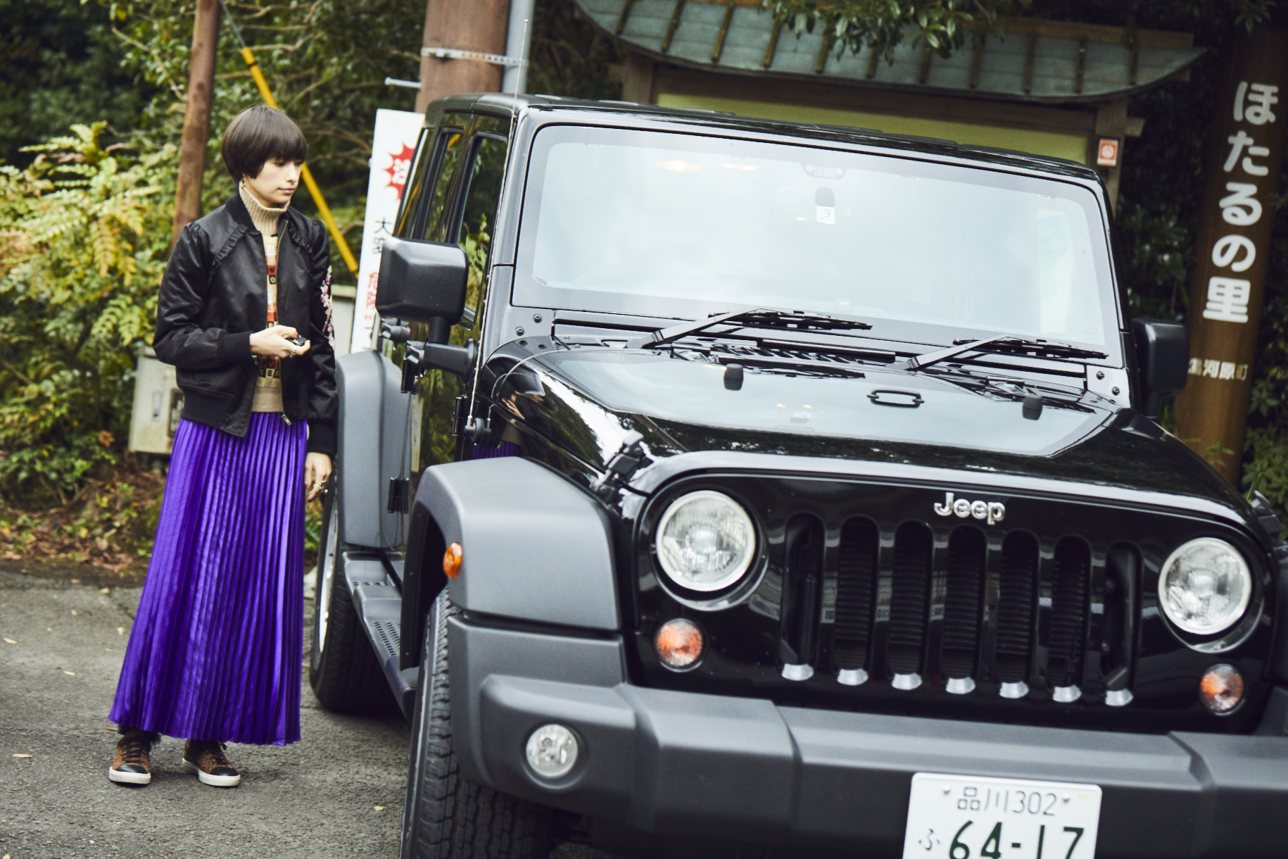 ho_104702 My Jeep®,My Life. ボクとJeep®の暮らしかた。女優・太田莉菜