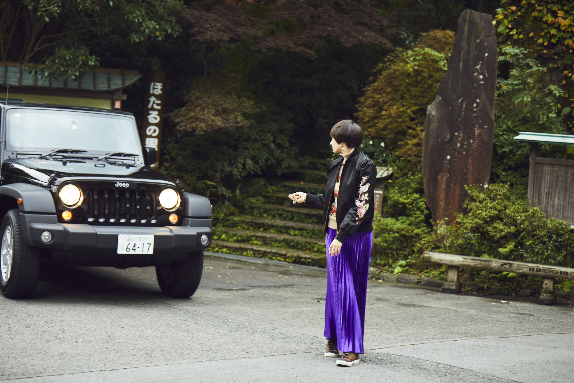 ho_104708 My Jeep®,My Life. ボクとJeep®の暮らしかた。女優・太田莉菜