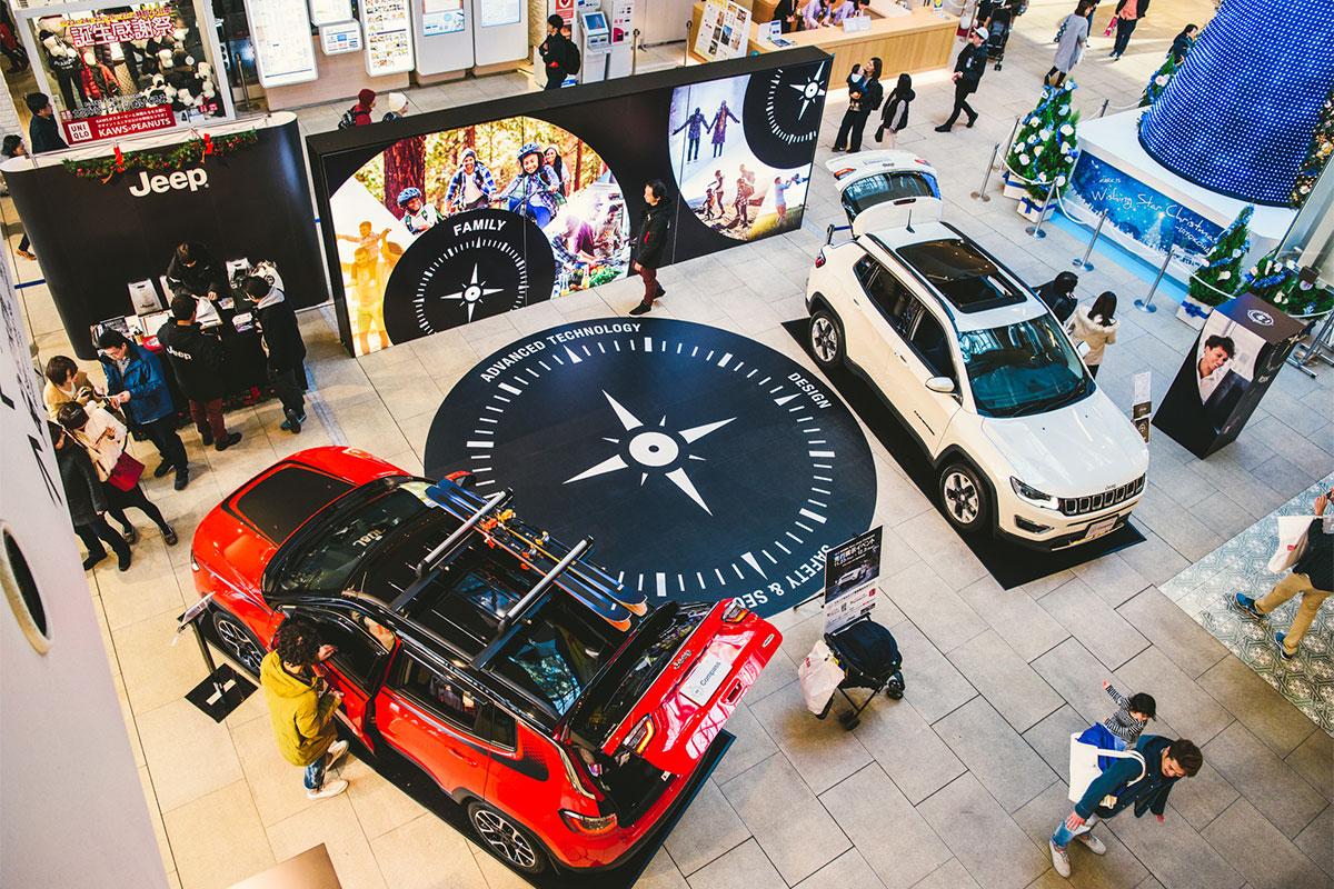 20171125_qetic-jeep-0056 新型『Jeep® Compass』の発売に先駆け、横浜のMARK ISみなとみらいで実車展示イベントを開催!