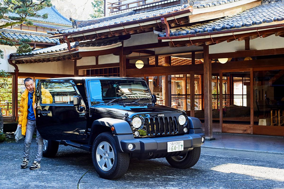 data_RF_8039 ラジオ番組『Jeep® CREATIVE GARAGE』1月のゲストは〈N.ハリウッド〉デザイナーの尾花大輔さん。日曜夜22時よりON AIR!