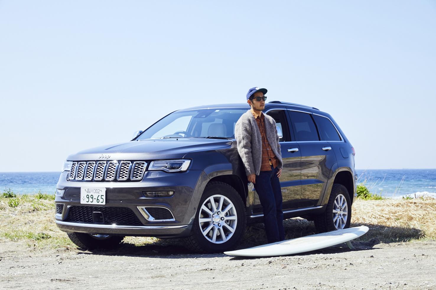 j_0788 ラジオ番組『Jeep® CREATIVE GARAGE』3月のゲストはアーティスト・花井祐介さん。