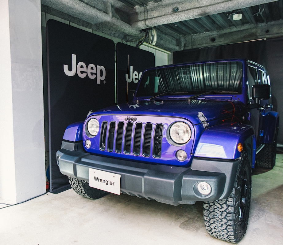 0103_benmori_11 アーティスト・森勉さんインタビュー!Jeep® はアーティストにとって最高のフリーダムを感じさせてくれる存在