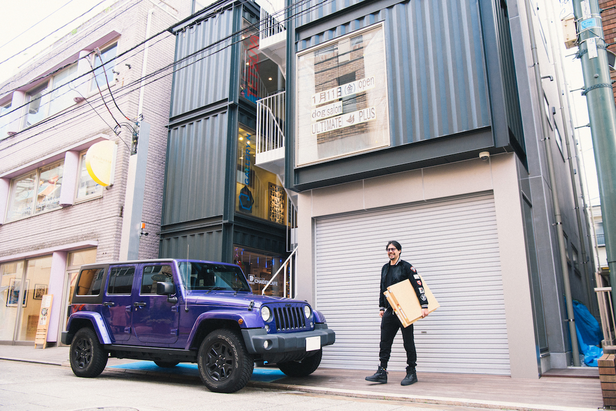 0103_benmori_18 アーティスト・森勉さんインタビュー!Jeep® はアーティストにとって最高のフリーダムを感じさせてくれる存在