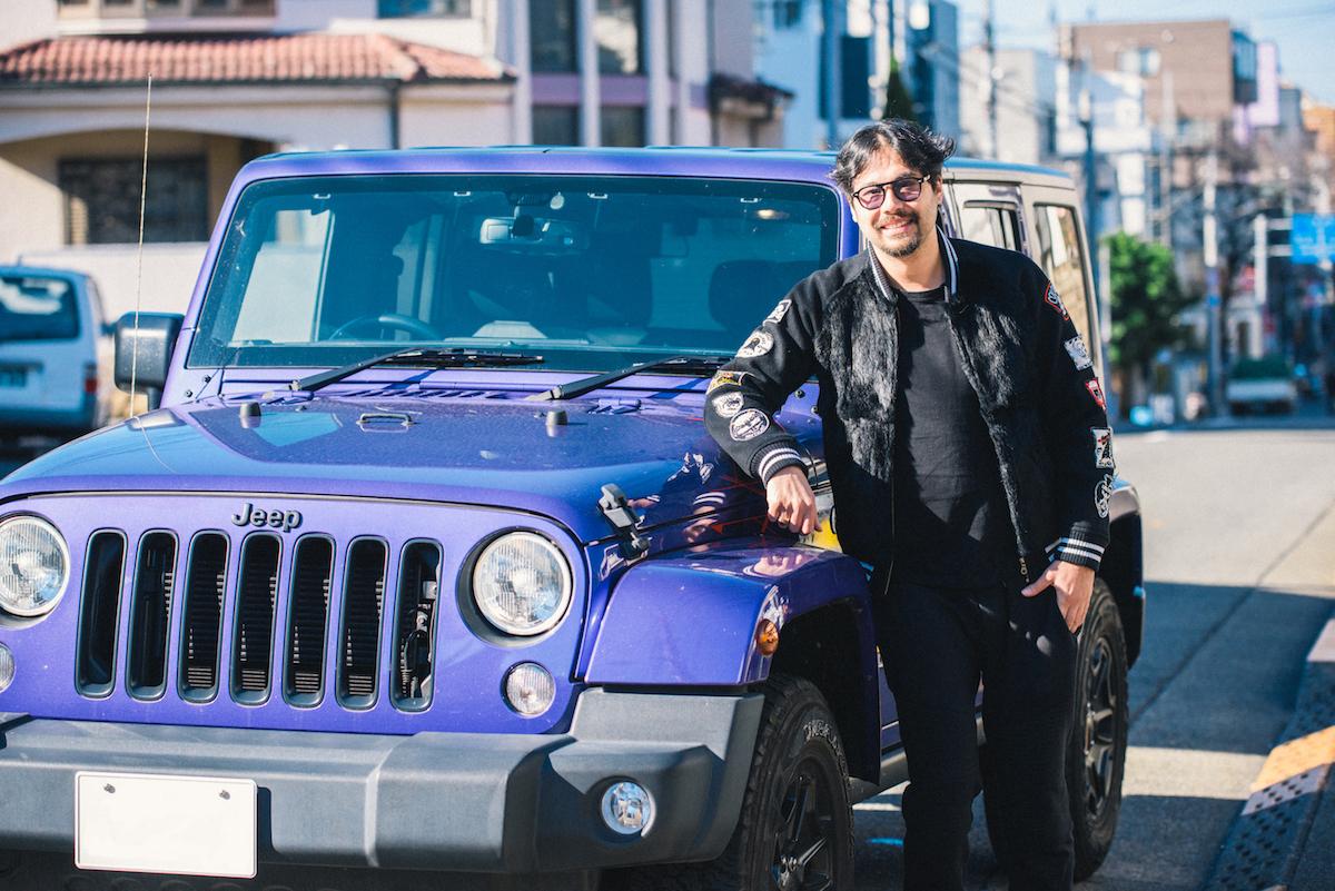 0103_benmori_2 アーティスト・森勉さんインタビュー!Jeep® はアーティストにとって最高のフリーダムを感じさせてくれる存在