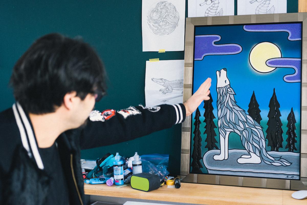 0103_benmori_7 アーティスト・森勉さんインタビュー!Jeep® はアーティストにとって最高のフリーダムを感じさせてくれる存在