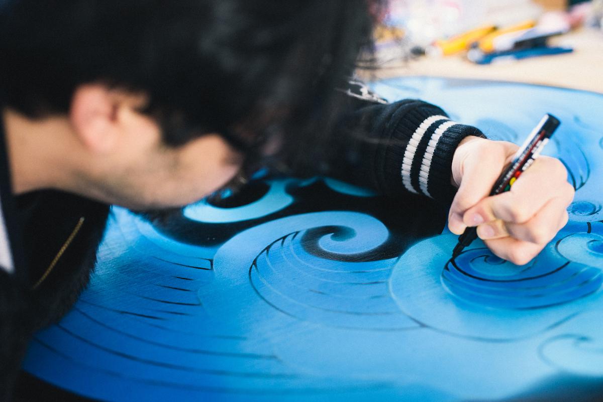 0103_benmori_9 アーティスト・森勉さんインタビュー!Jeep® はアーティストにとって最高のフリーダムを感じさせてくれる存在
