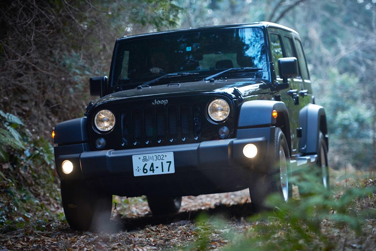 realstyle180424_02 まさにオフロードを走れるツールボックス。Jeep® Wrangler Unlimited Sportにギアを積み込んで山を遊ぶ!