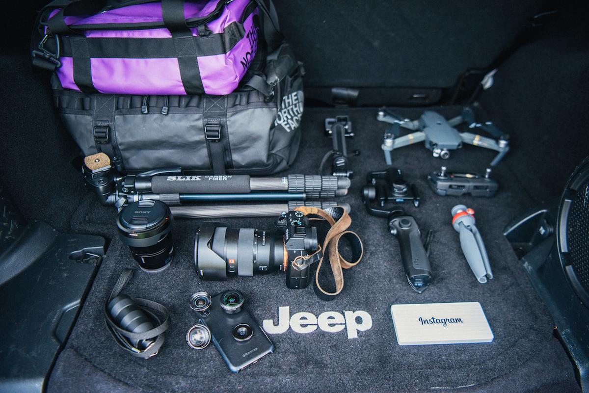 20180513_qetic-jeep-sp-0102 人気インスタグラマー・KoichiさんがJeep® に積んでいる愛用のカメラギア&アウトドアギア