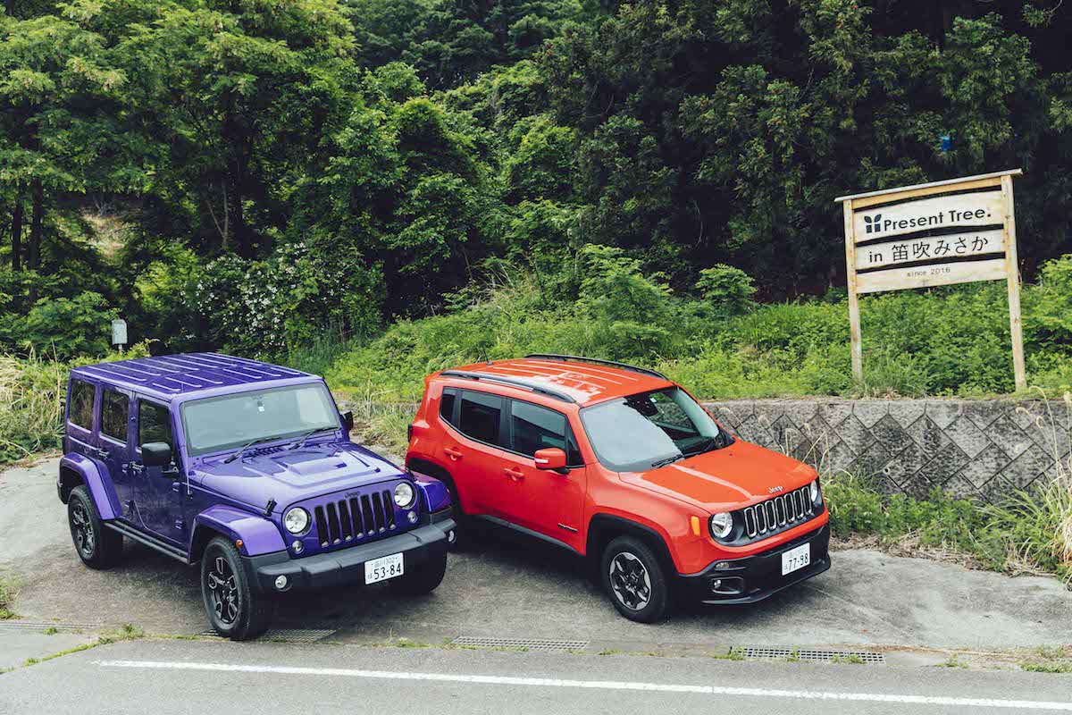 Y1_2546 緑の森へ、Jeep® Compassと出かける。植樹活動<Present Tree in 笛吹みさか>の様子をレポート!