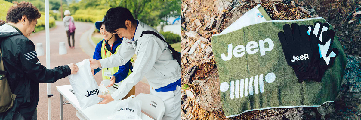 pt_01 緑の森へ、Jeep® Compassと出かける。植樹活動<Present Tree in 笛吹みさか>の様子をレポート!