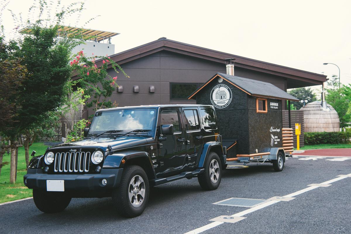 """20180731_qetic-jeep-metos-0013 サウナは""""コミュニケーションの場"""" Jeep® × METOS ASEMAで旅する、夏の奥志賀高原ホテル"""