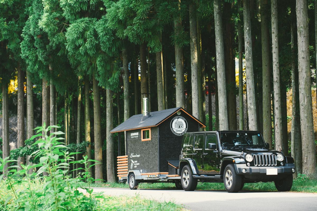 """20180731_qetic-jeep-metos-0031 サウナは""""コミュニケーションの場"""" Jeep® × METOS ASEMAで旅する、夏の奥志賀高原ホテル"""