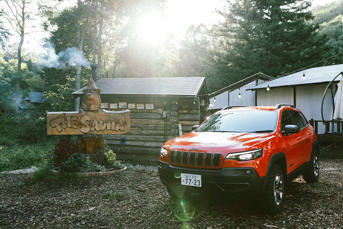 01_5718-1 Jeep® で行くアウトドア・サウナ!ゲストハウスLAMP野尻湖の『The Sauna』を体験レポート