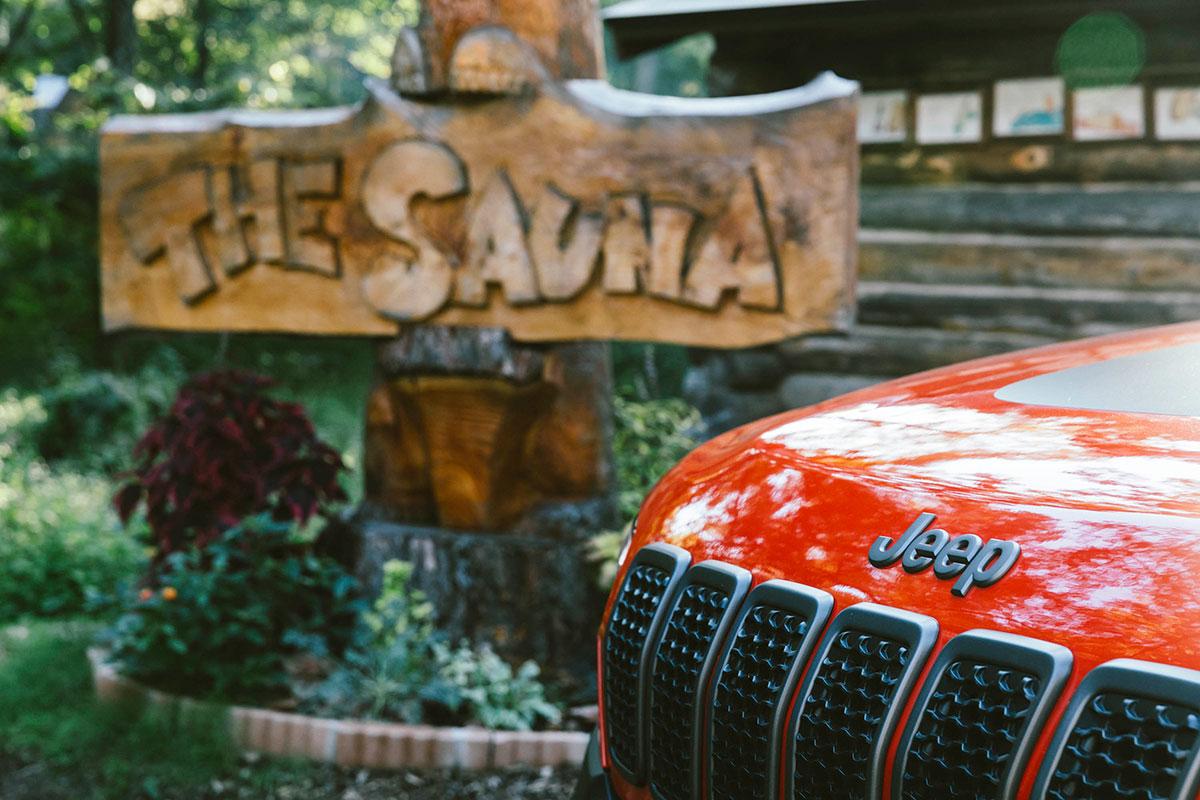 01_5722 Jeep® で行くアウトドア・サウナ!ゲストハウスLAMP野尻湖の『The Sauna』を体験レポート