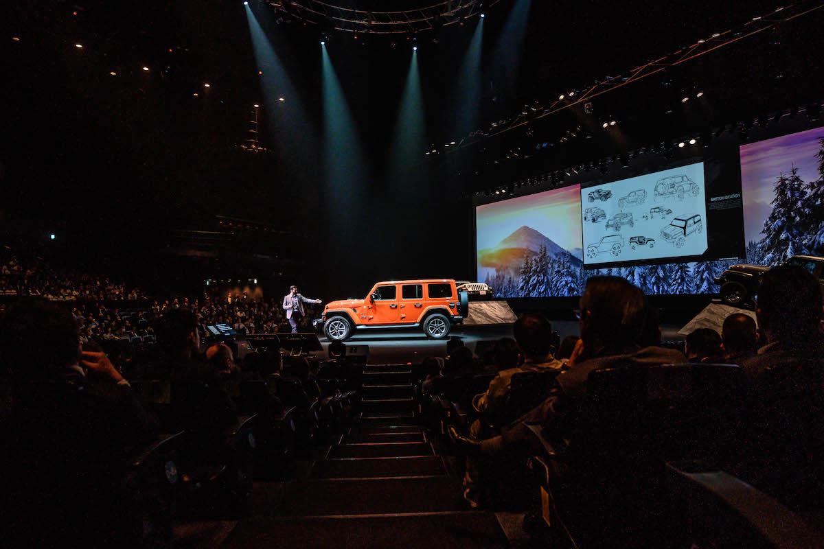 181105_jeep_newrangler_15 11年ぶりのオールニュー。新しいJeep® Wranglerが披露されたALL-NEW Jeep® Wrangler LAUNCH CONFERENCEレポート