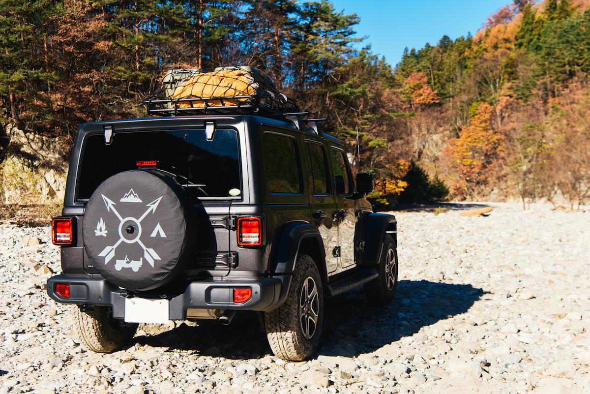 181213_jeep_sasaki_12 【キャンプサイト編】RealStyleを体現するスキーヤー佐々木明とNEW Jeep® Wranglerでアウトドアへ! 〜純正アクセサリー & キャンプギア大特集〜