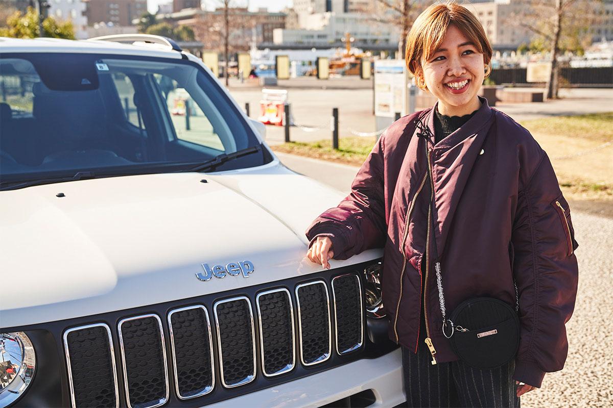 """191204_jeep_00274 【Jeep当選者インタビュー】ONもOFFもライフスタイルのすべてがアップグレード!""""COORDINATE ON&OFF""""キャンペーン当選者へインタビュー"""