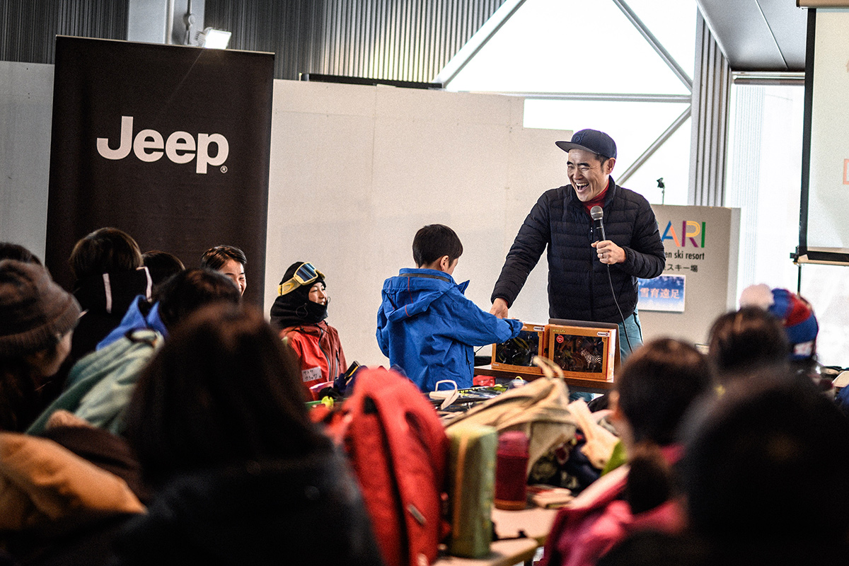 DSC_7497 Jeepがサポートする復興支援プロジェクト『雪育遠足』レポート&佐々木明×井山敬介のトップスキーヤー対談!