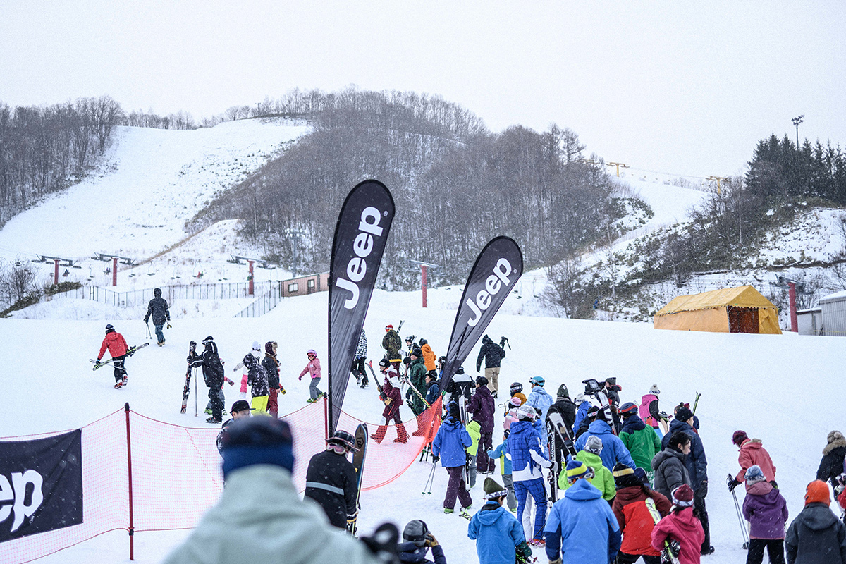 DSC_7553 Jeepがサポートする復興支援プロジェクト『雪育遠足』レポート&佐々木明×井山敬介のトップスキーヤー対談!
