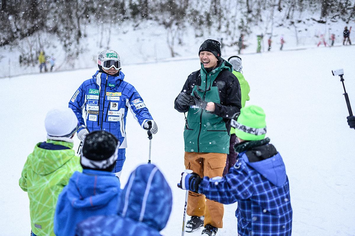 DSC_7591 Jeepがサポートする復興支援プロジェクト『雪育遠足』レポート&佐々木明×井山敬介のトップスキーヤー対談!